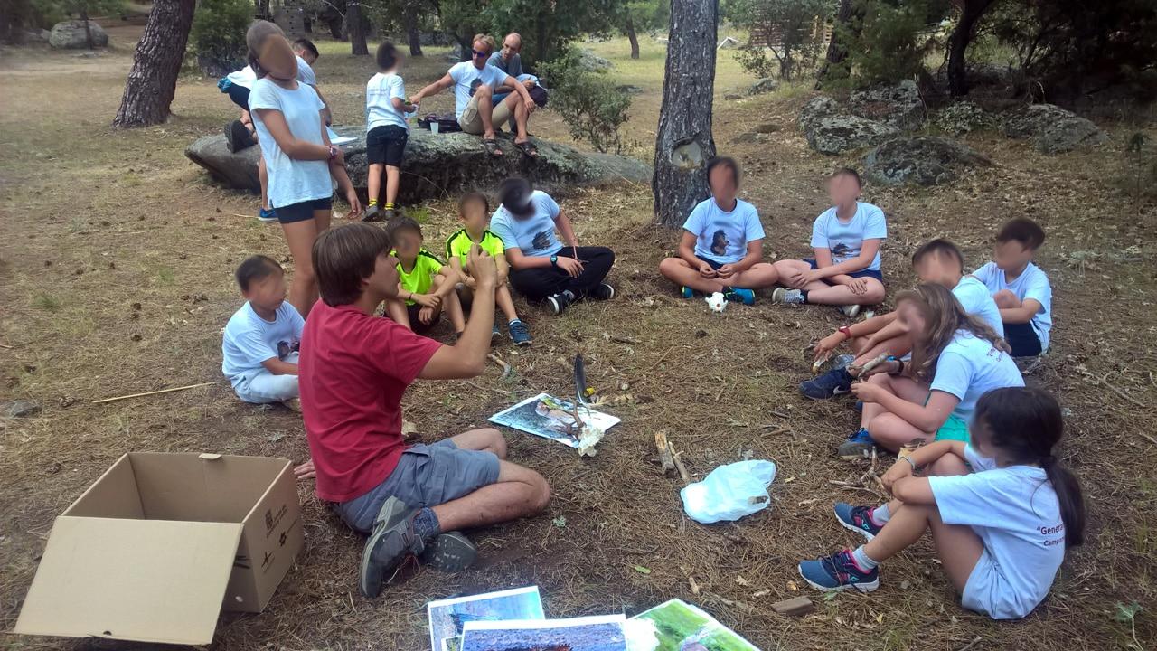"""AEPAE - Campamento """"Generando confianza"""""""
