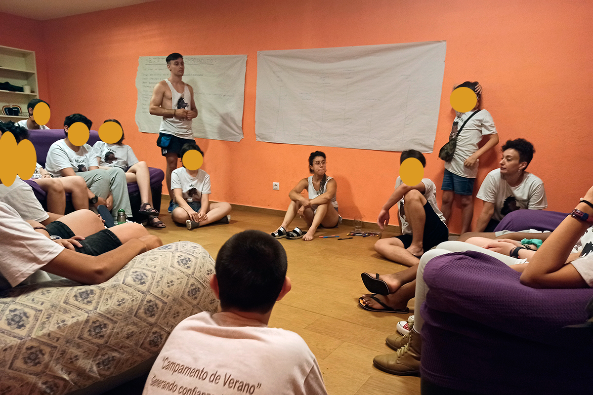 """AEPAE - Campamento """"Generando confianza"""" - Indefensión aprendida"""