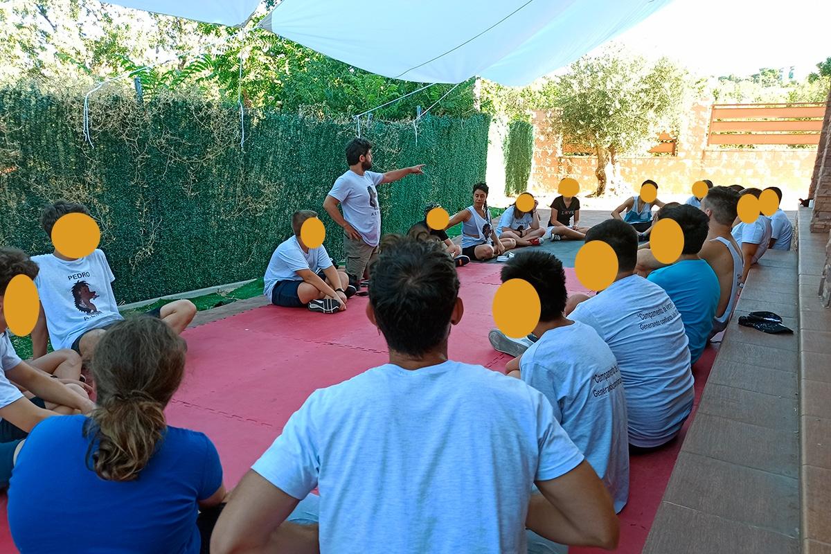 """AEPAE - Campamento """"Generando confianza"""" - Yo soy ..."""
