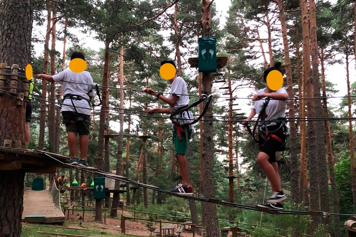 """AEPAE - Campamento """"Generando confianza"""" - Plantando cara al miedo"""