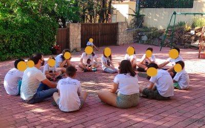 """Campamento 2021 – Día 1: """"Valentía para defenderme"""""""